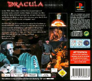 Screenshot Thumbnail / Media File 1 for Dracula - The Resurrection [Disc1of2] [U]